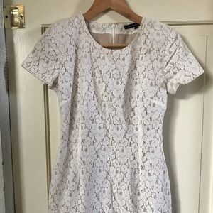 French Connection Mini Lace Dress